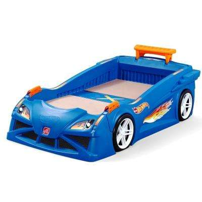 Hot Wheels Twin Plastic Kids Bed