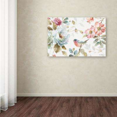 "30 in. x 47 in. ""Beautiful Romance IV"" by Lisa Audit Printed Canvas Wall Art"