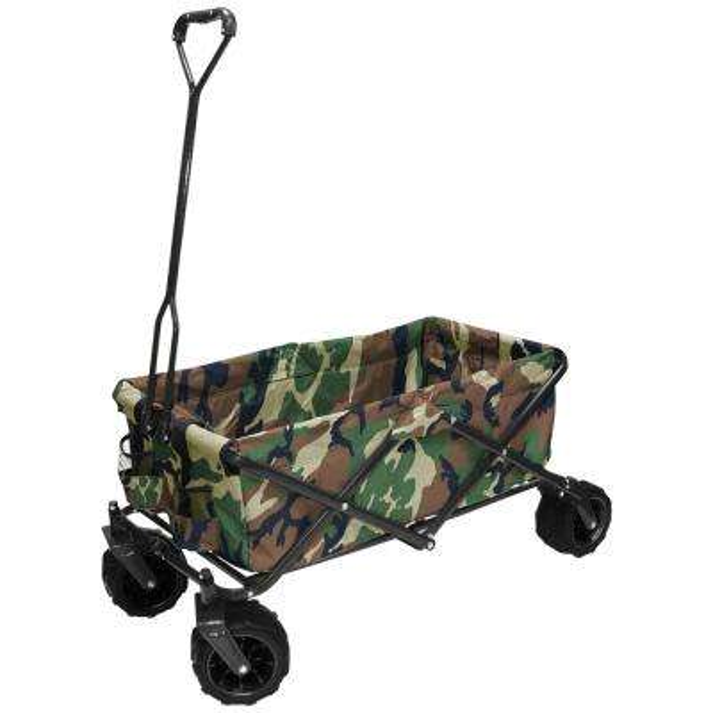 7 cu. ft. Folding Garden Wagon Carts in Camo