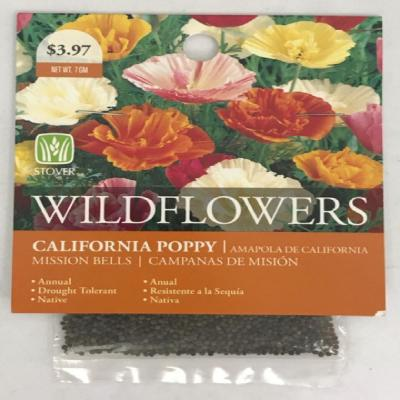 California Poppy Mission Bells Seed