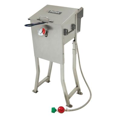 2.5 gal. Bayou Fryer with Stainless Steel Basket