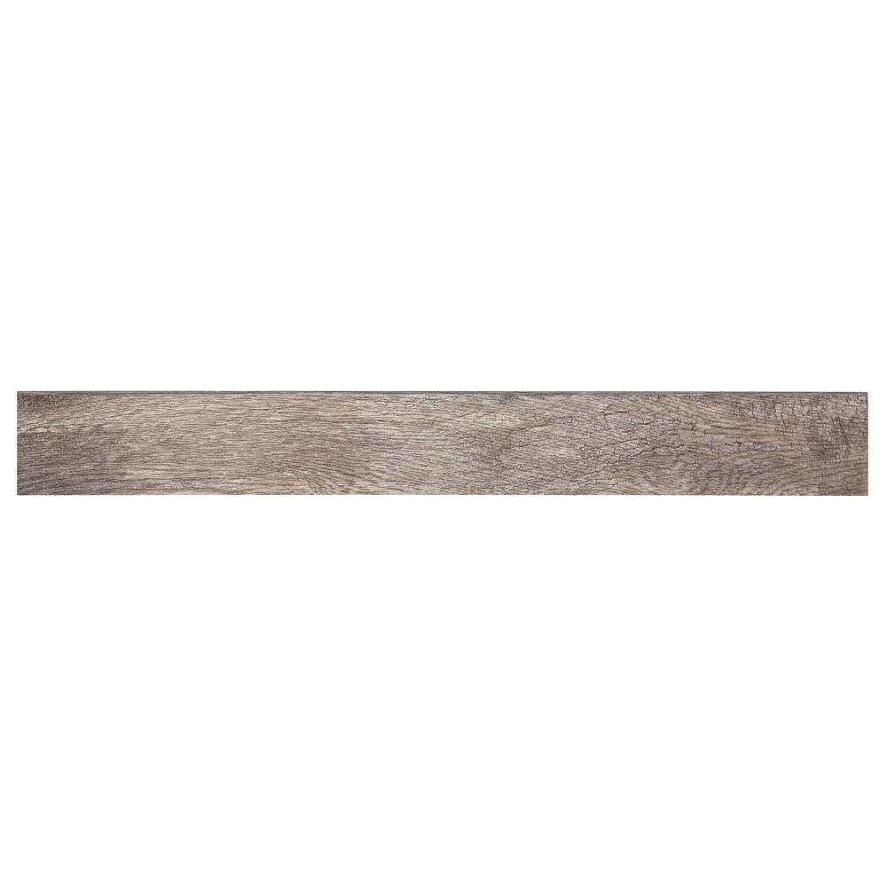 Marazzi Montagna Rustic Bay 3 in. x 24 in. Porcelain Floor and Wall Bullnose Tile