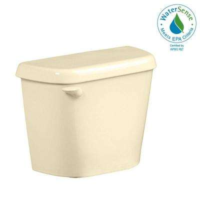Colony 1.28 GPF Single Flush Toilet Tank Only for 12 in. Rough in Bone