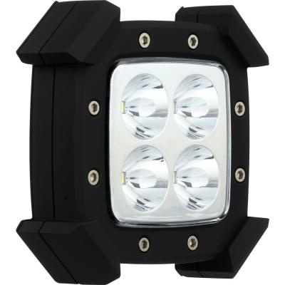 3.5 in. LED Black Battery Operated Rugged Puck Light