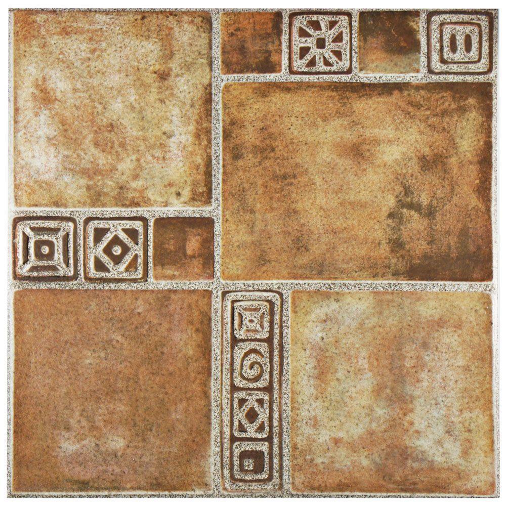 Merola Tile Sonia Beige 17-3/4 in. x 17-3/4 in. Ceramic Floor and Wall Tile (11.3 sq. ft. / case)