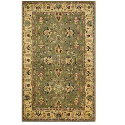 Rochelle Green 4 ft. x 6 ft. Area Rug