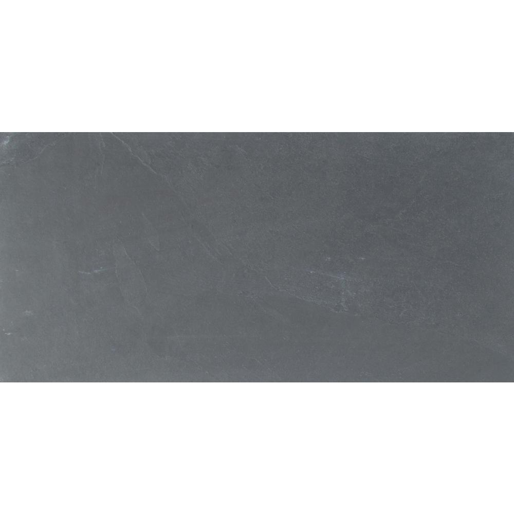MSI Montauk Blue 12 in. x 24 in. Gauged Slate Floor and Wall Tile (10 sq. ft. / case)