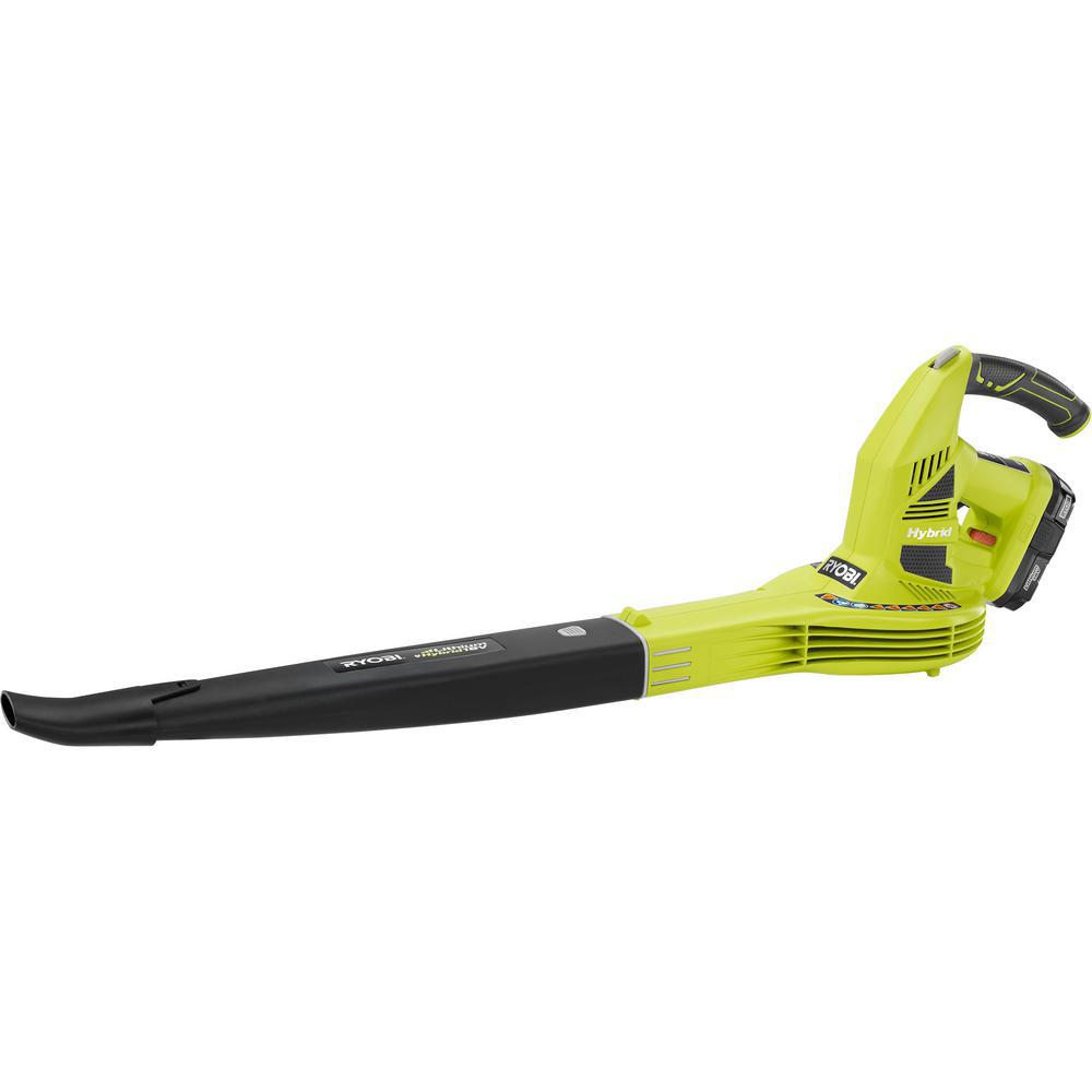 Ryobi Reconditioned One+ 150 MPH 200 CFM 18-Volt Lithium-...