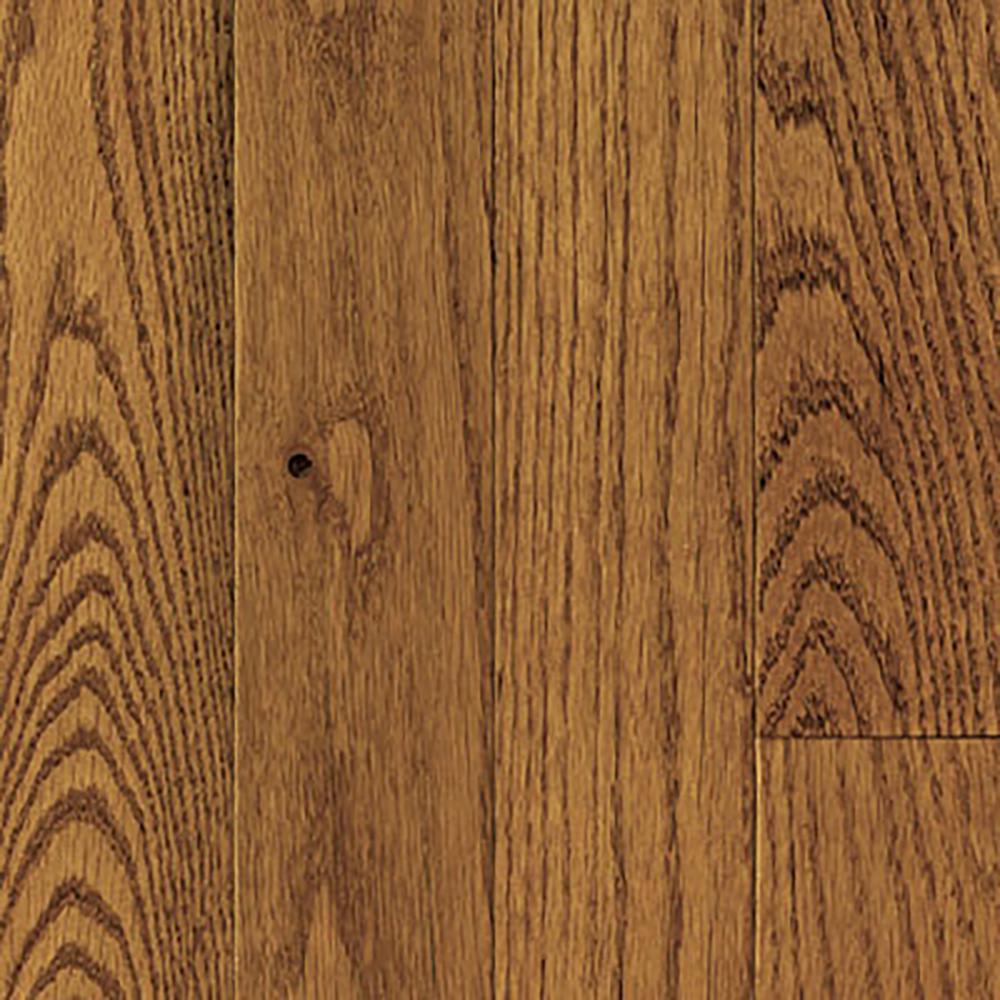 Blue Ridge Oak Honey Wheat Solid Hardwood Flooring - 5 in. x 7 in. Take Home Sample