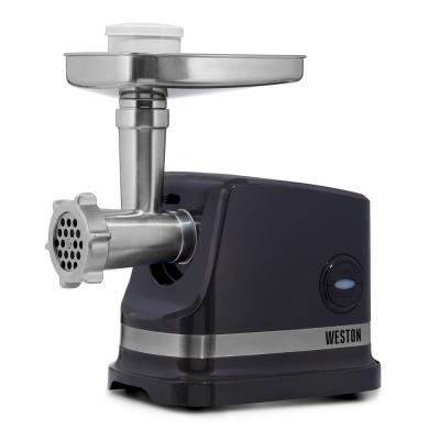 #8 575 W Black Electric Meat Grinder with Sausage Stuffing Kit