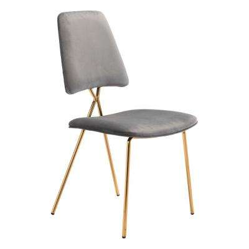 Chloe Gray Dining Chair (Set of 2)