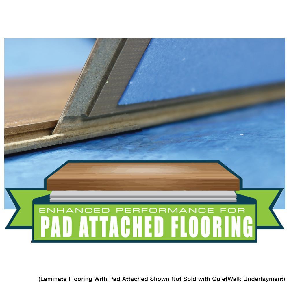 Quietwalk 100 Sq Ft 3 X 33, Underlayment For Laminate Flooring On Concrete Home Depot