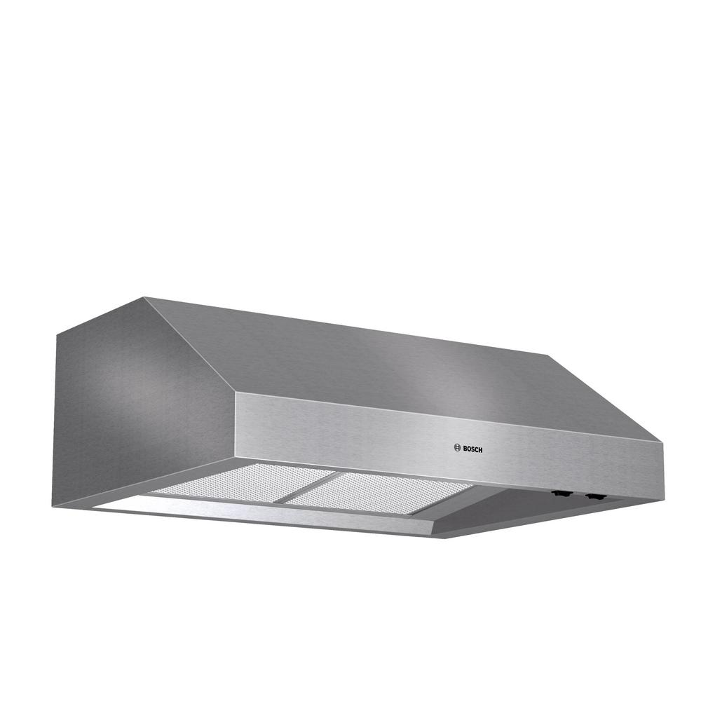 Bosch 800 Series 30 in. Undercabinet Range Hood with Lights in Stainless Steel