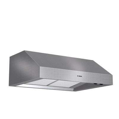 800 Series 30 in. Undercabinet Range Hood with Lights in Stainless Steel
