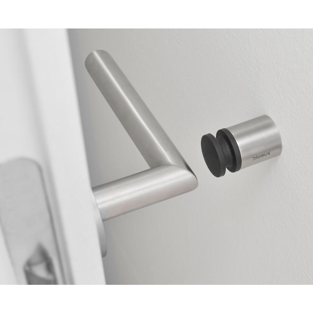 Charmant Stainless Steel Brushed Wall Mounted Door Stop