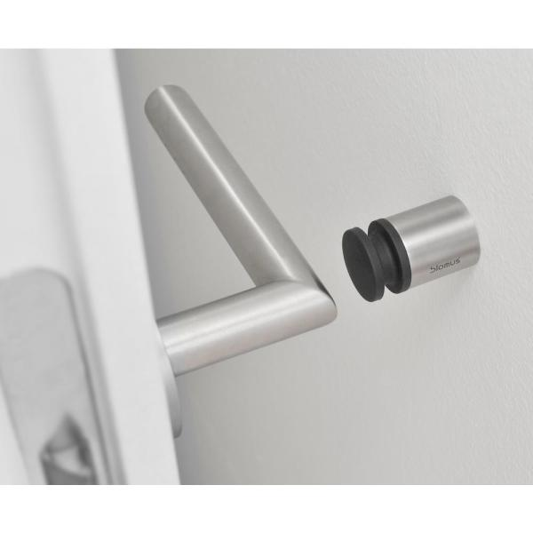 Blomus Entra 1 1 2 In Stainless Steel Brushed Wall