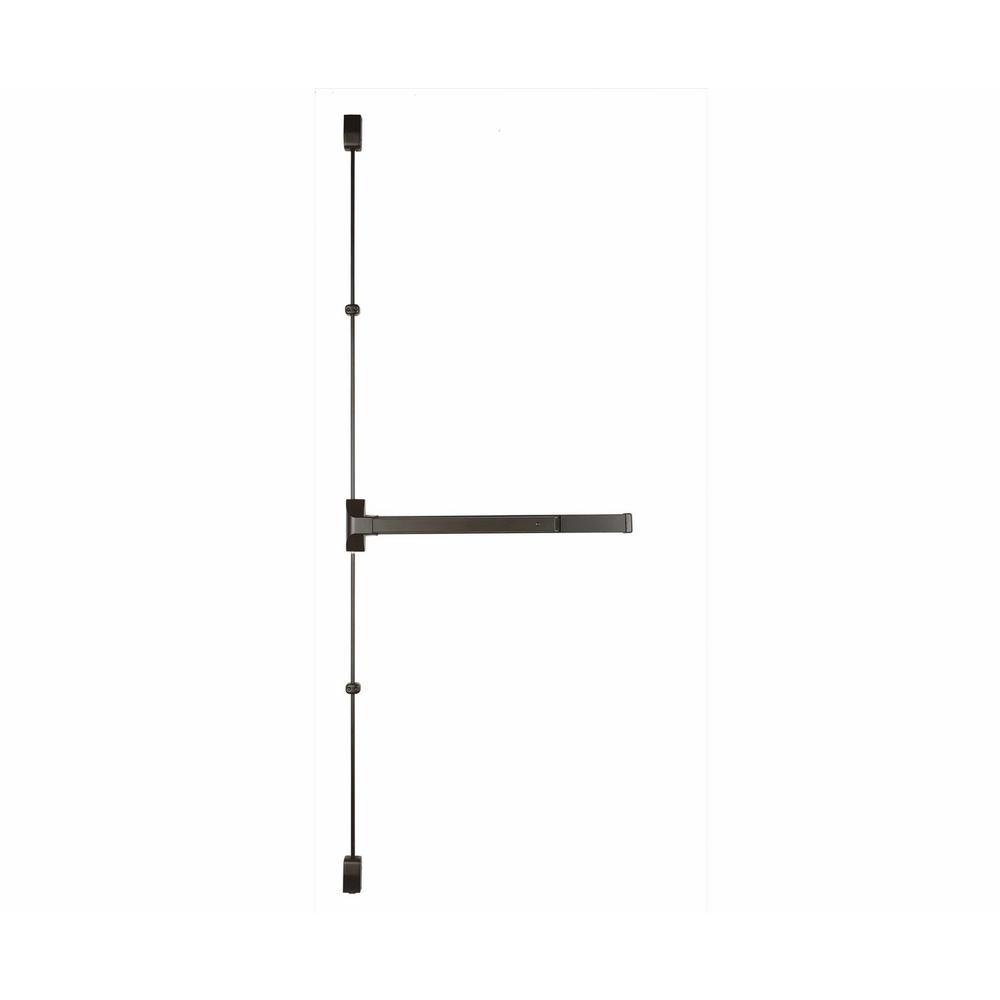 48 in. Dark Bronze Grade 1 Vertical Rod Exit