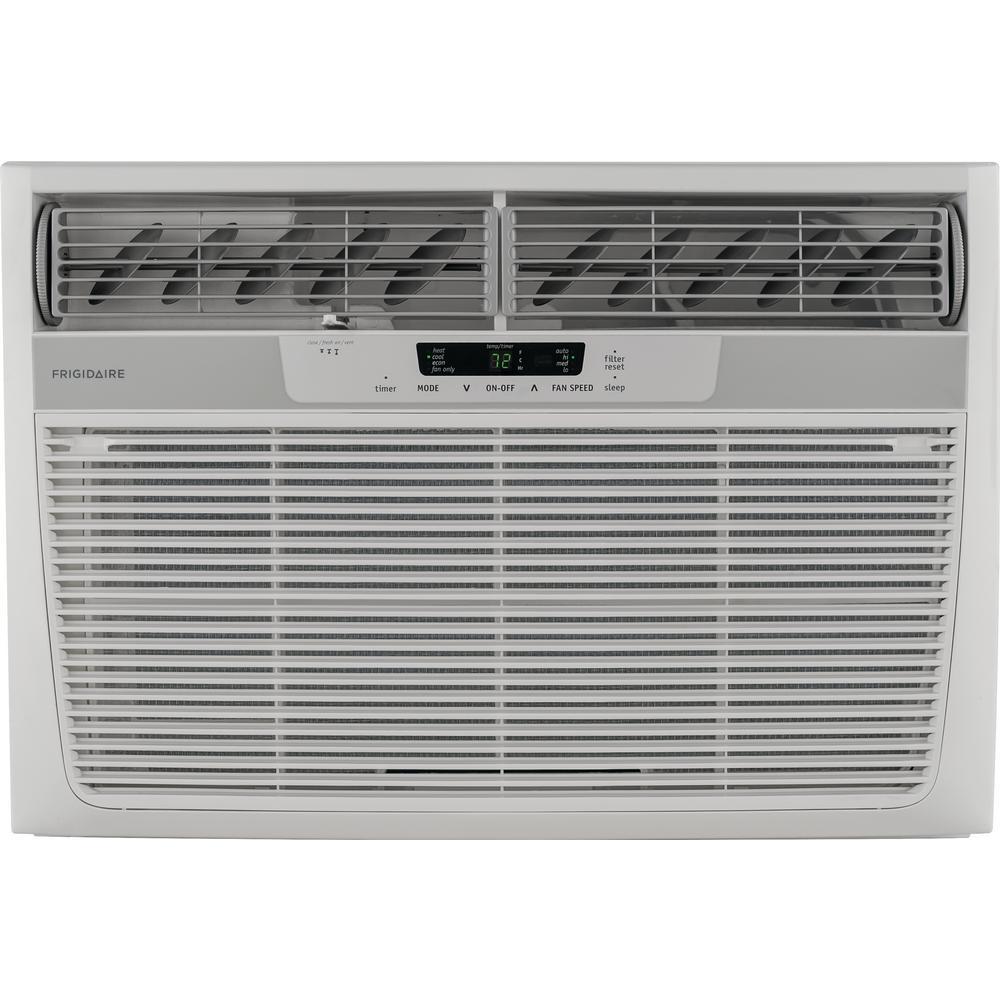 25,000 BTU 230-Volt Window Air Conditioner with 16,000 BTU Supplemental Heat Capability
