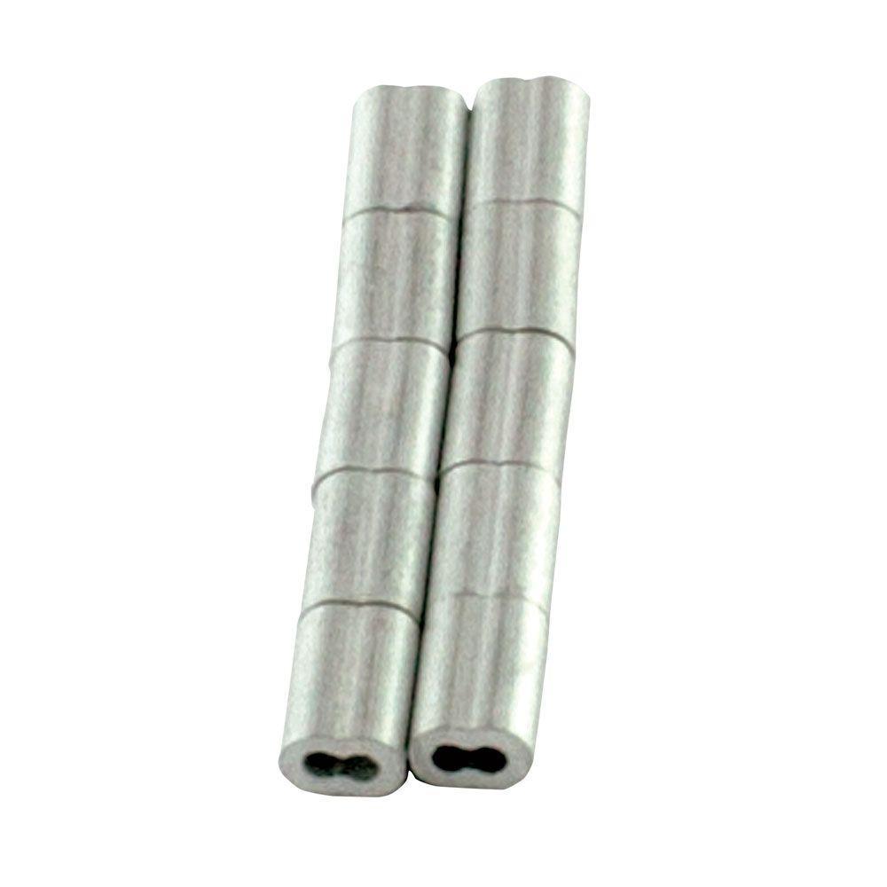 1/16 in. Aluminum Ferrules (10-Pack)