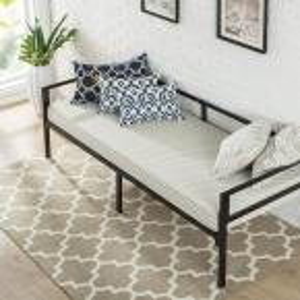 Brandi Quick Lock 30 in. Wide Day Bed Frame and Foam Mattress Set