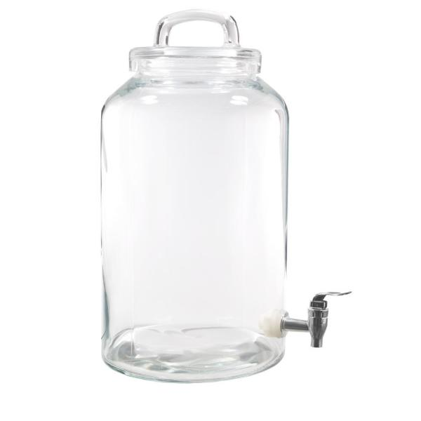 HOME ESSENTIALS & BEYOND Heritage Home 2.25 Gal. Loop Top Drink Dispenser