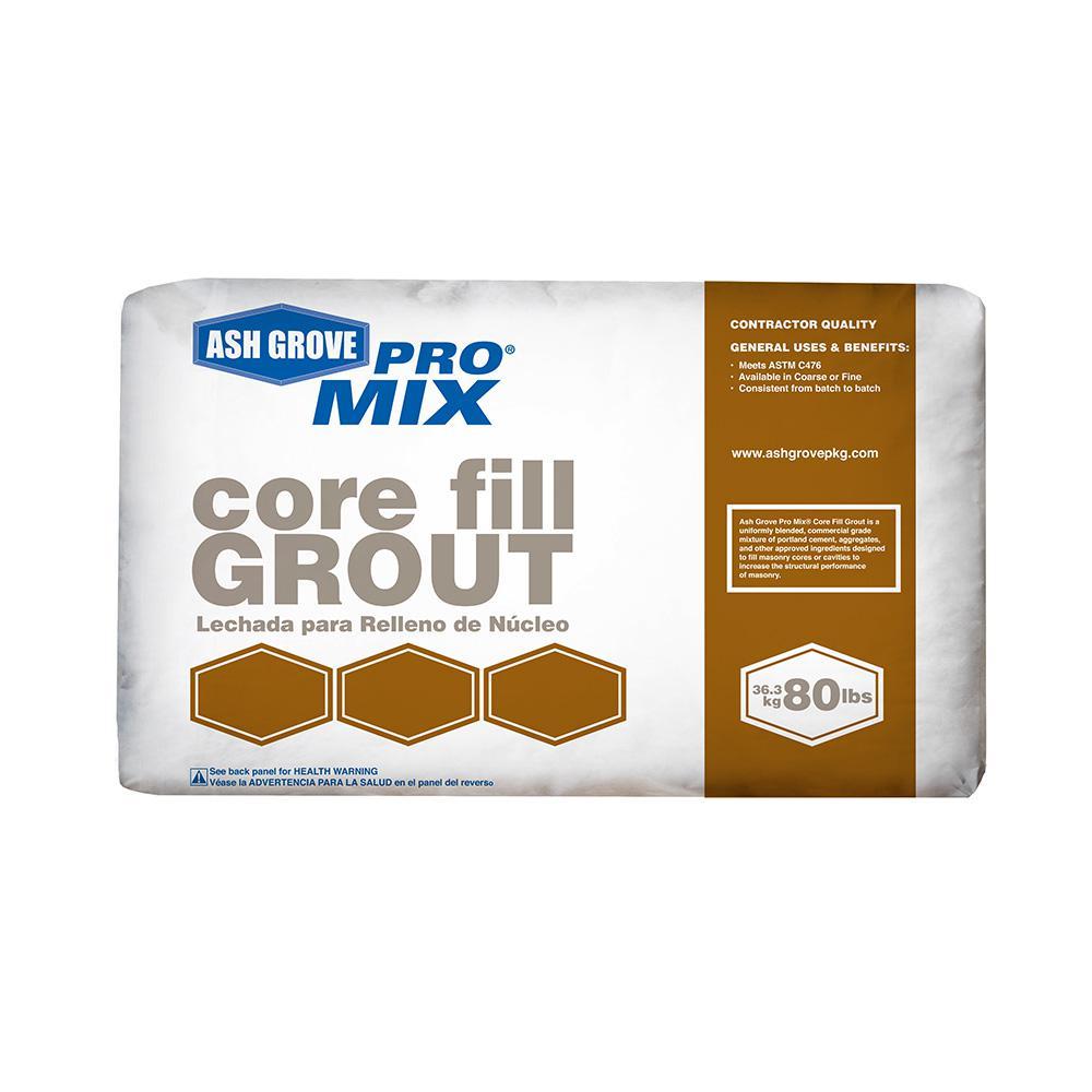 80 lb. Core Fill Grout