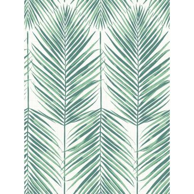 Paradise Tropical Leaves Paper Strippable Roll (Covers 60.75 sq. ft.)