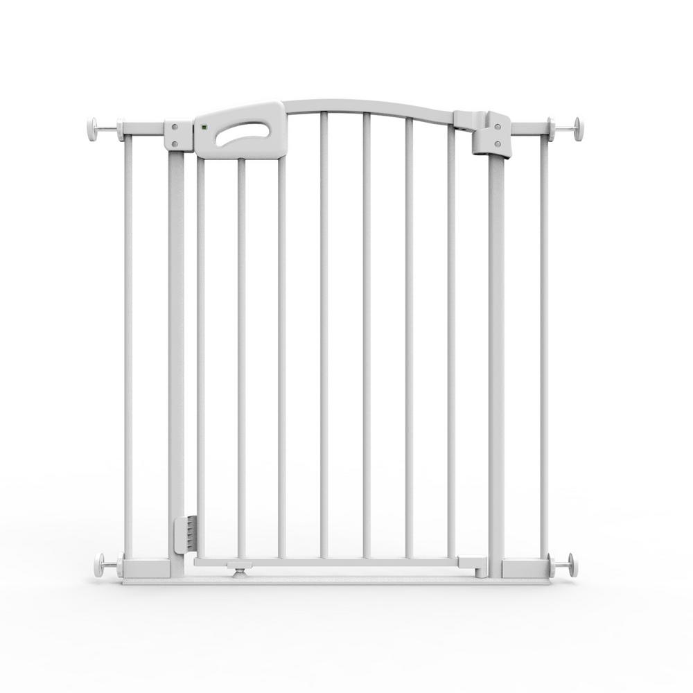 31 in. H Ultimate Baby Gate, Safe Step, Auto Close and