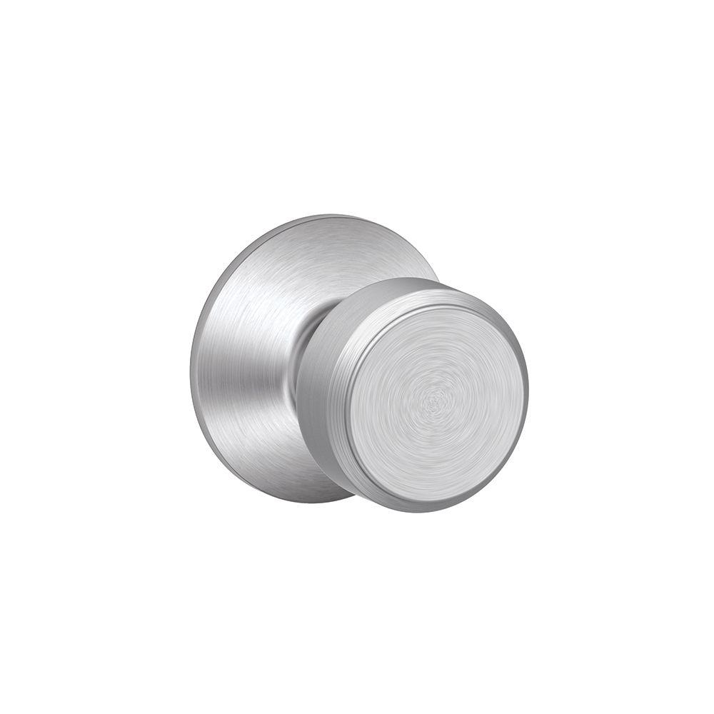 Schlage Bowery Satin Chrome Passage Hall Closet Door Knob