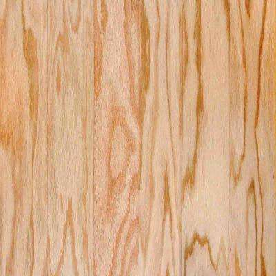 Red Oak Natural 1/2 in. Thick x 3 in. Wide x Random Length Engineered Hardwood Flooring (24 sq. ft. / case)