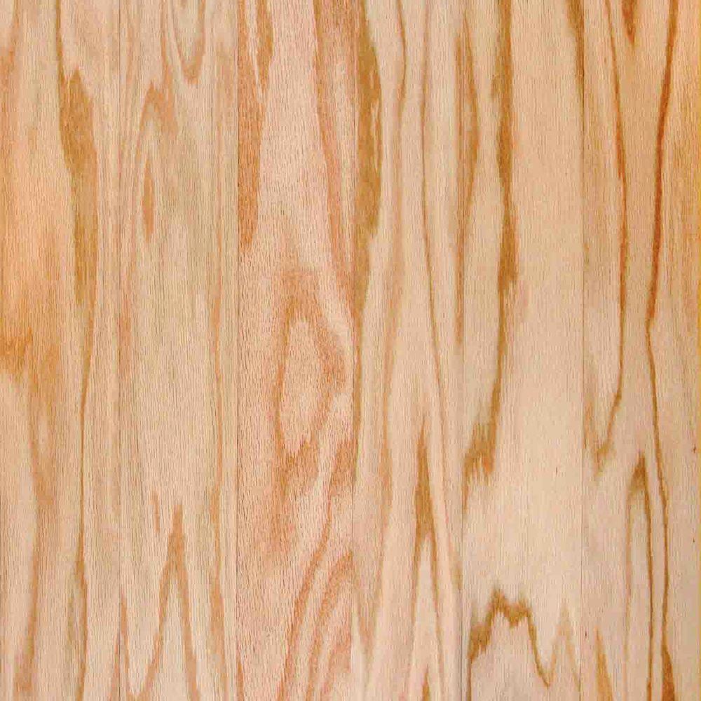 Take Home Sample - Red Oak Natural Engineered Hardwood Flooring - 5 in. x 7 in.