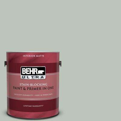 1 gal. #N410-3 Riverdale Matte Interior Paint and Primer in One