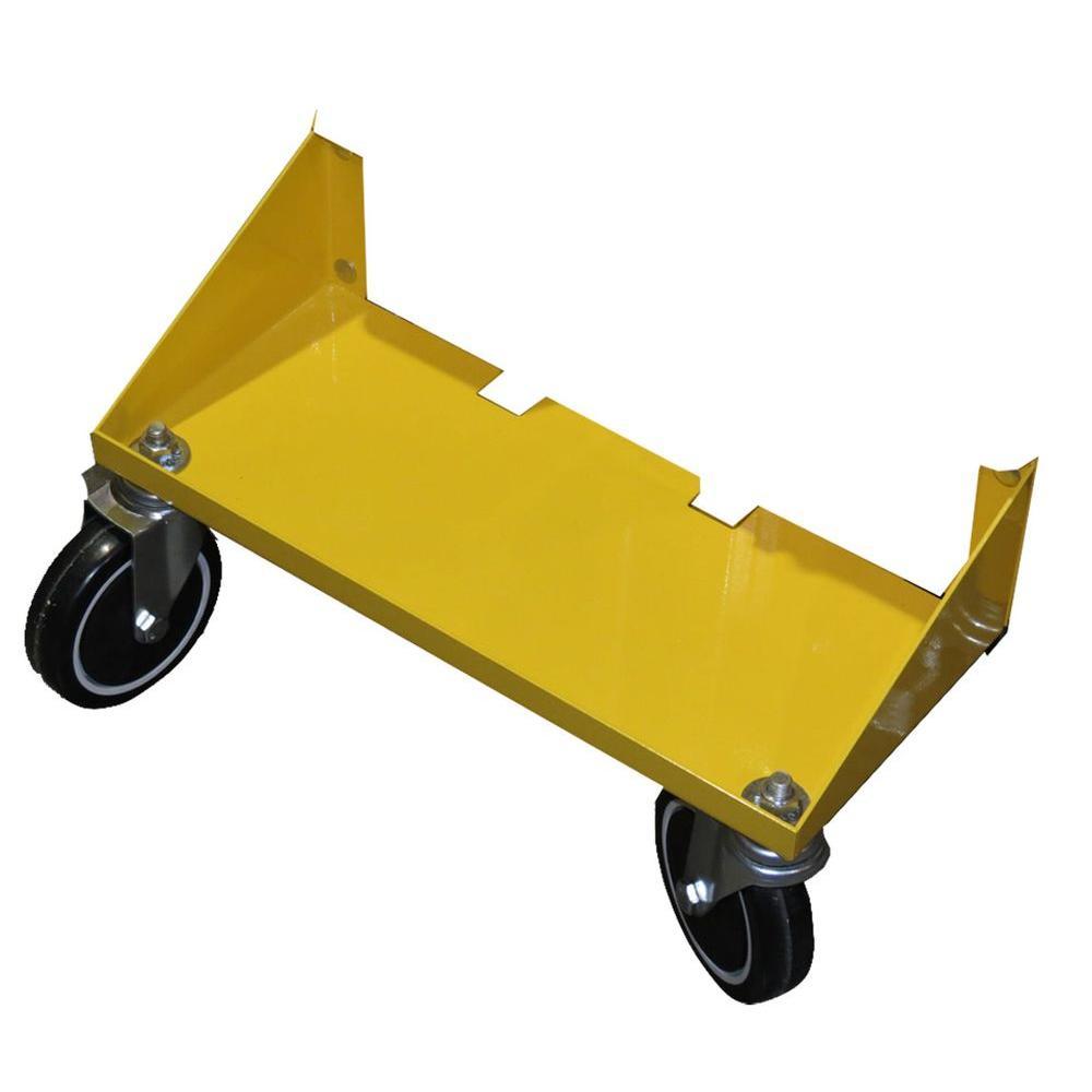 null Heavy Duty Metal 2-Caster Bracket for All Terrain Panel Cart