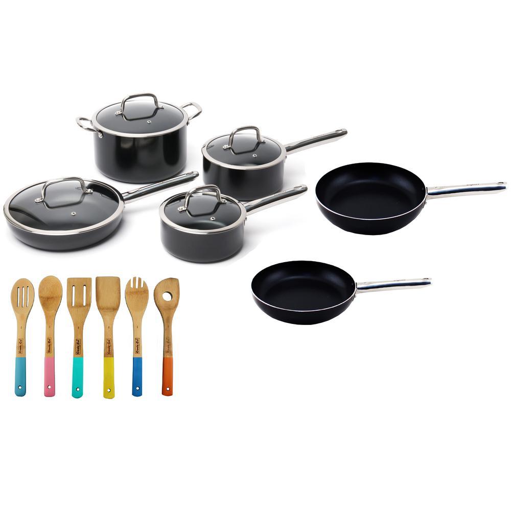 Boreal 16-Piece Cookware Set