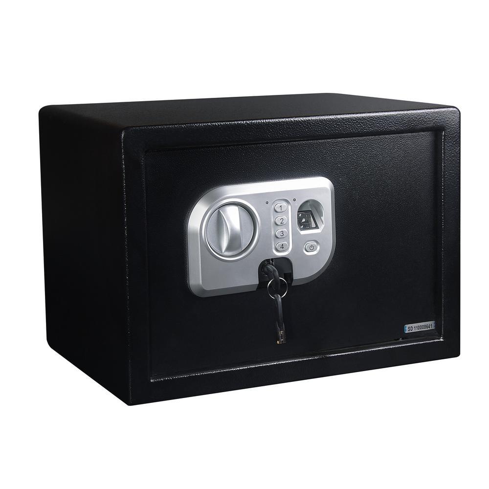 0.75 cu. ft. Security Safe with Biometric Fingerprint Reader