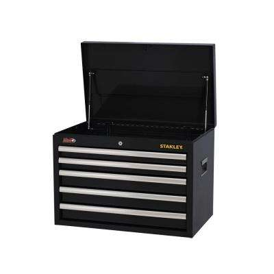 26 in. W 5-Drawer Tool Chest, Black