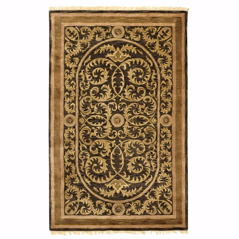 Colette Black 2 ft. x 3 ft. Accent Rug