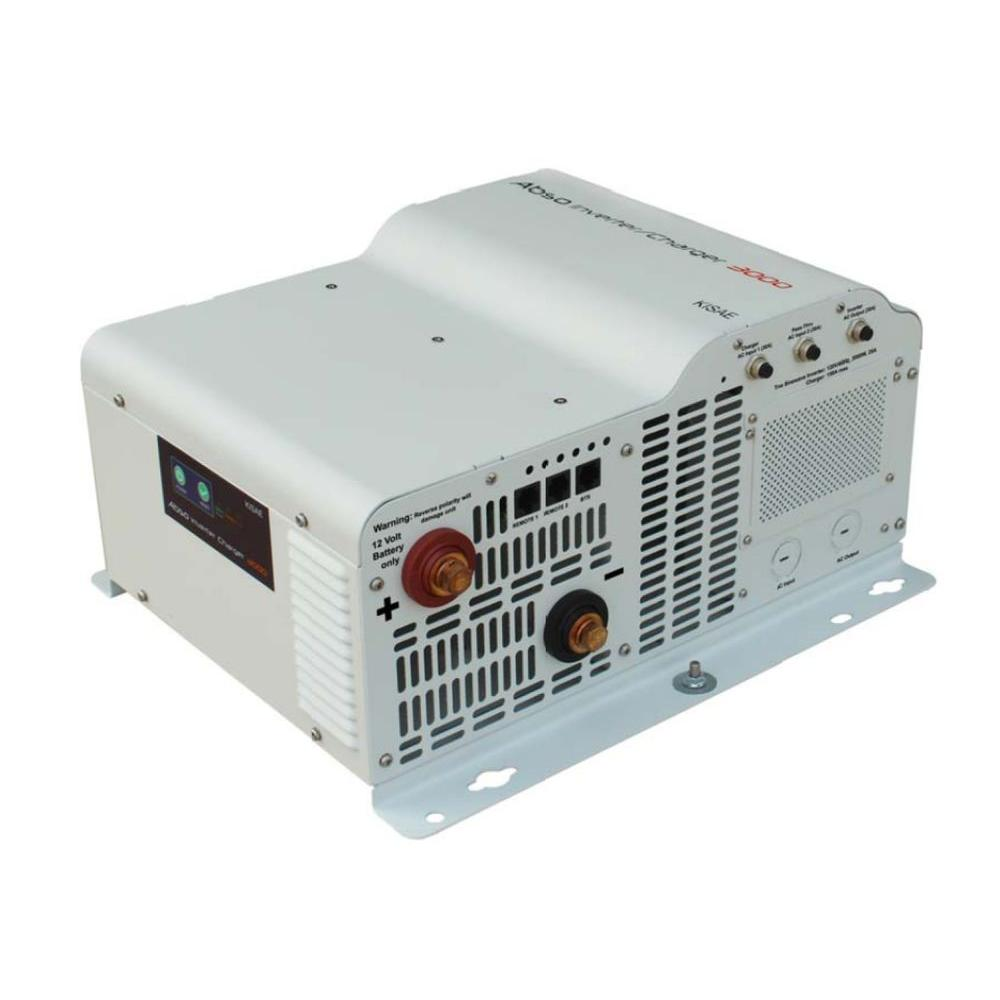 Abso 3,000-Watt Sine Wave Inverter with 150-Amp Battery Charger