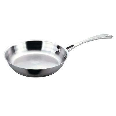 Copper Clad 10 in. 18/10 Stainless Steel Fry Pan