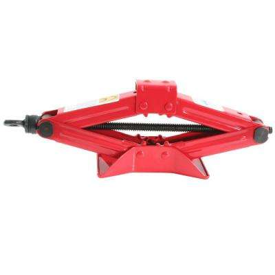 17 in. x 3.50 in. 2,000 lb. 1-Ton Scissor Car Jack