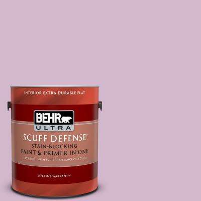1 gal. #M110-3 Bedazzled Extra Durable Flat Interior Paint and Primer in One