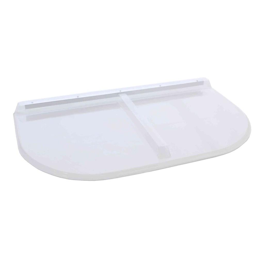 Shape Products 45 in. x 26 in. Polycarbonate U-Shape Window Well Cover