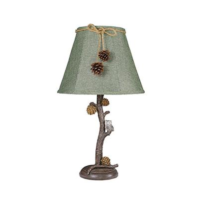 24 in. Brown Table Lamp
