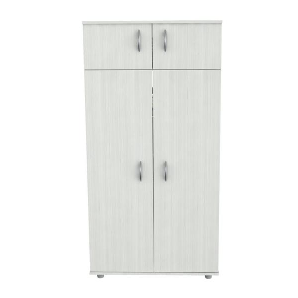Inval Laricina White Armoire AM-12623