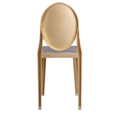pair gold dining frame with set chair of chairs white