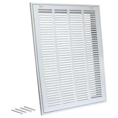20 in. x 20 in. Steel Return Filter Grille