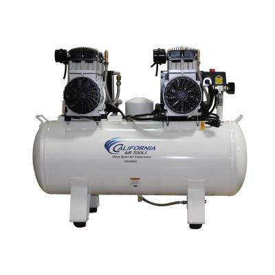 20 Gal. 4.0 HP Ultra-Quiet, Ultra Dry and Oil-Free Electric Stationary Air Compressor with Air Dryer and Auto Drain