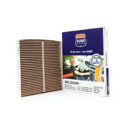 Replacement Antibacterial Cabin Air Filter for Wix 24857 Purolator C35530 Fram CF10140