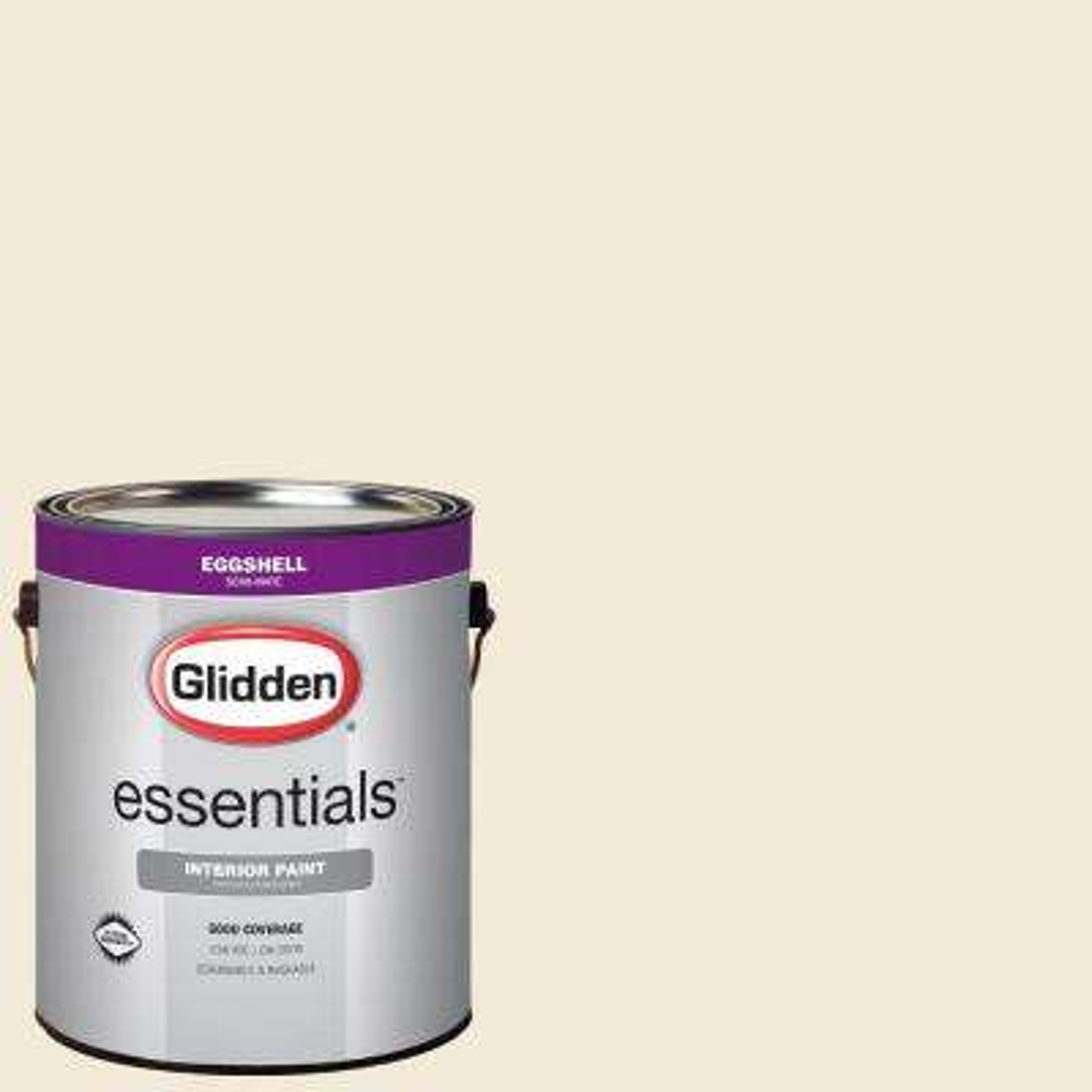 1 gal. #HDGWN42 Shell White Eggshell Interior Paint