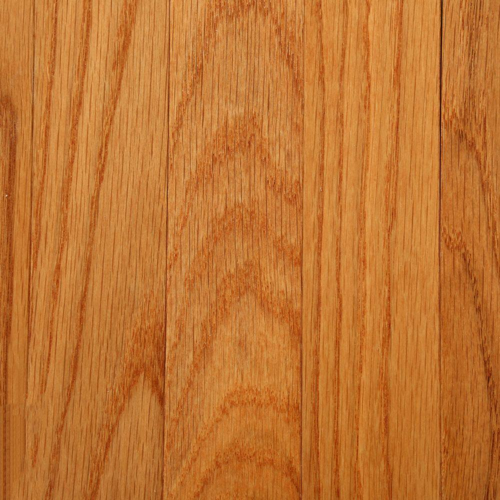 Bruce 3 4 in x 2 1 4 in butterscotch oak 20 sq ft for Bruce hardwood floors 3 8